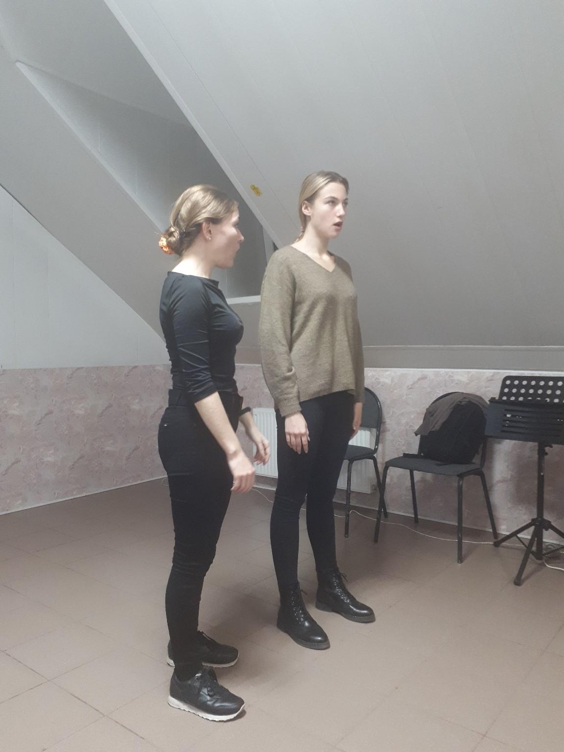 12 октября в 18:00 состоялся Мастер-класс на тему: «Влияние психологических факторов на развитие голоса»