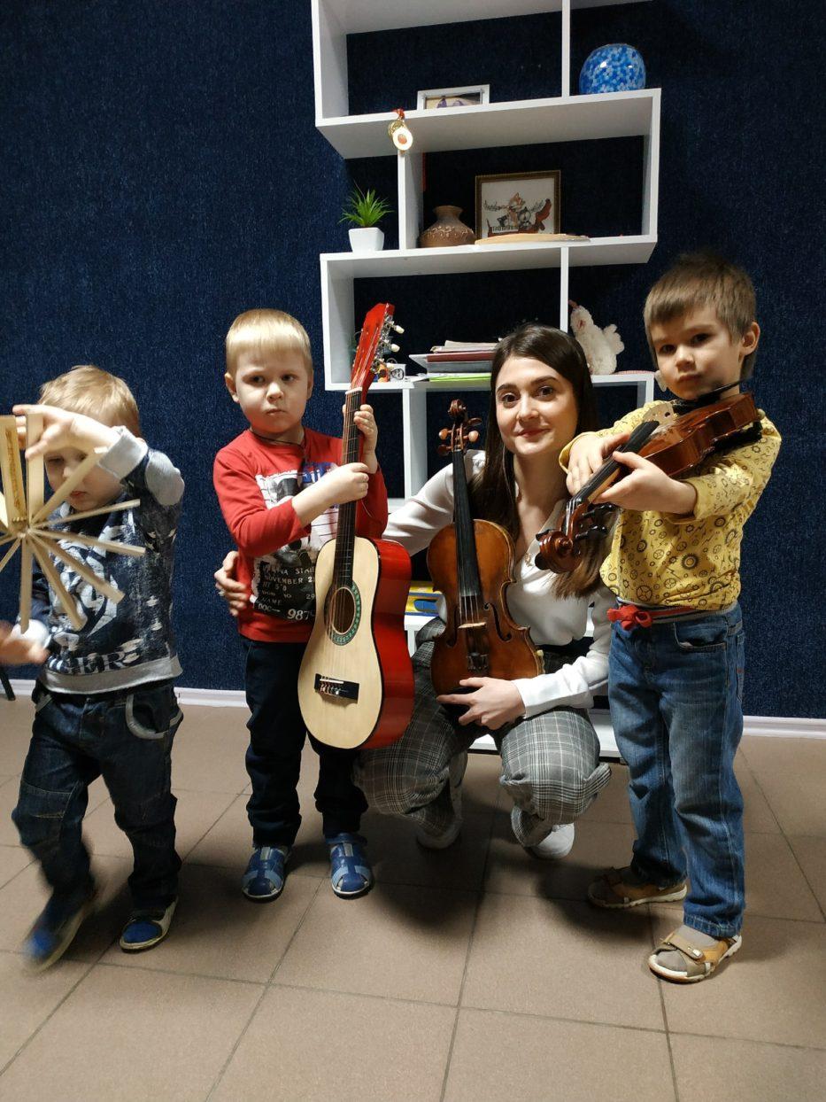 Мастер-класс «Музыка для самых маленьких»